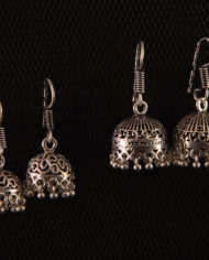 By Masala-Boucles d'oreille clochette modèle traditionnel indien (4)