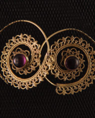 By Masala-Boucles d'oreille sprirale inspiration tribale (10)