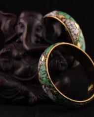 By Masala- Bracelet indien collage artisanal- Bohemian Melody (3)