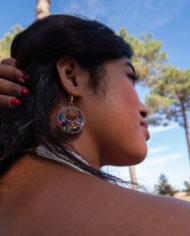 By Masala boucles d'oreilles couleur